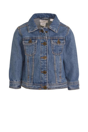 spijkerjas dark denim