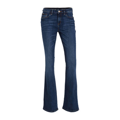 C&A The Denim flared jeans donkerblauw