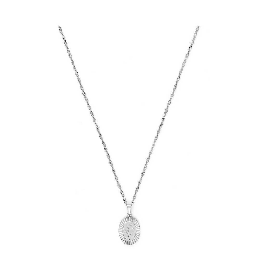 May Sparkle ketting MS10045 zilverkleurig, Zilverkleurig
