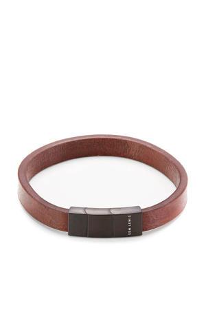leren armband SL210023 bruin