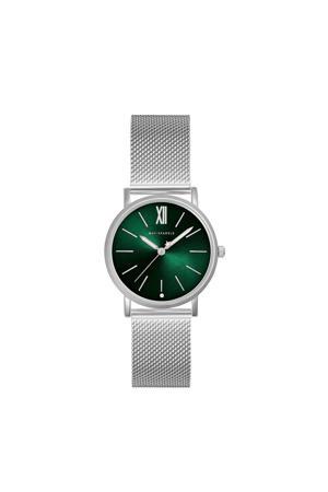 horloge MSB007 zilverkleurig/groen