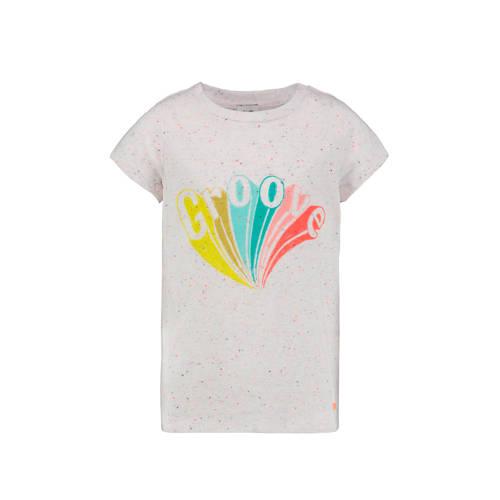CKS KIDS gem??leerd T-shirt Eleta ecru/geel/blauw