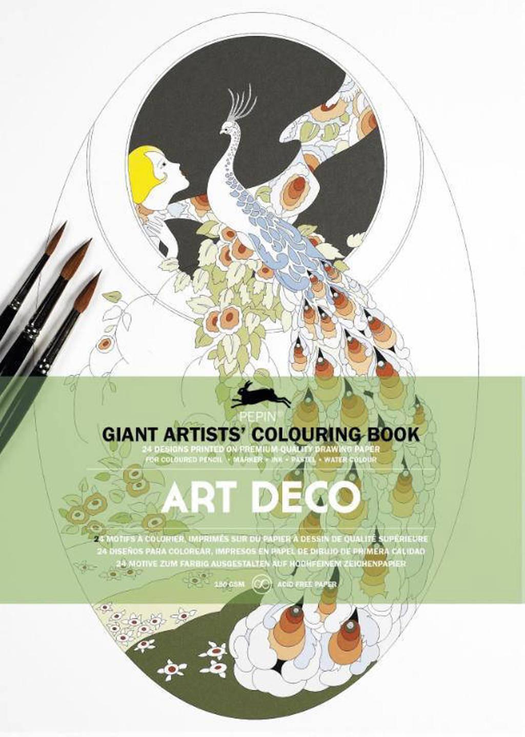 Artists' colouring book: Art Deco - Pepin van Roojen