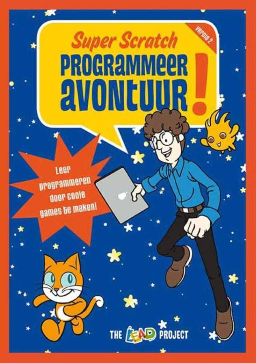 Super Scratch programmeeravontuur! - Lead-Project