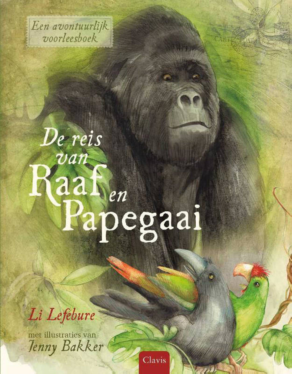 De reis van Raaf en Papegaai - Li Lefébure