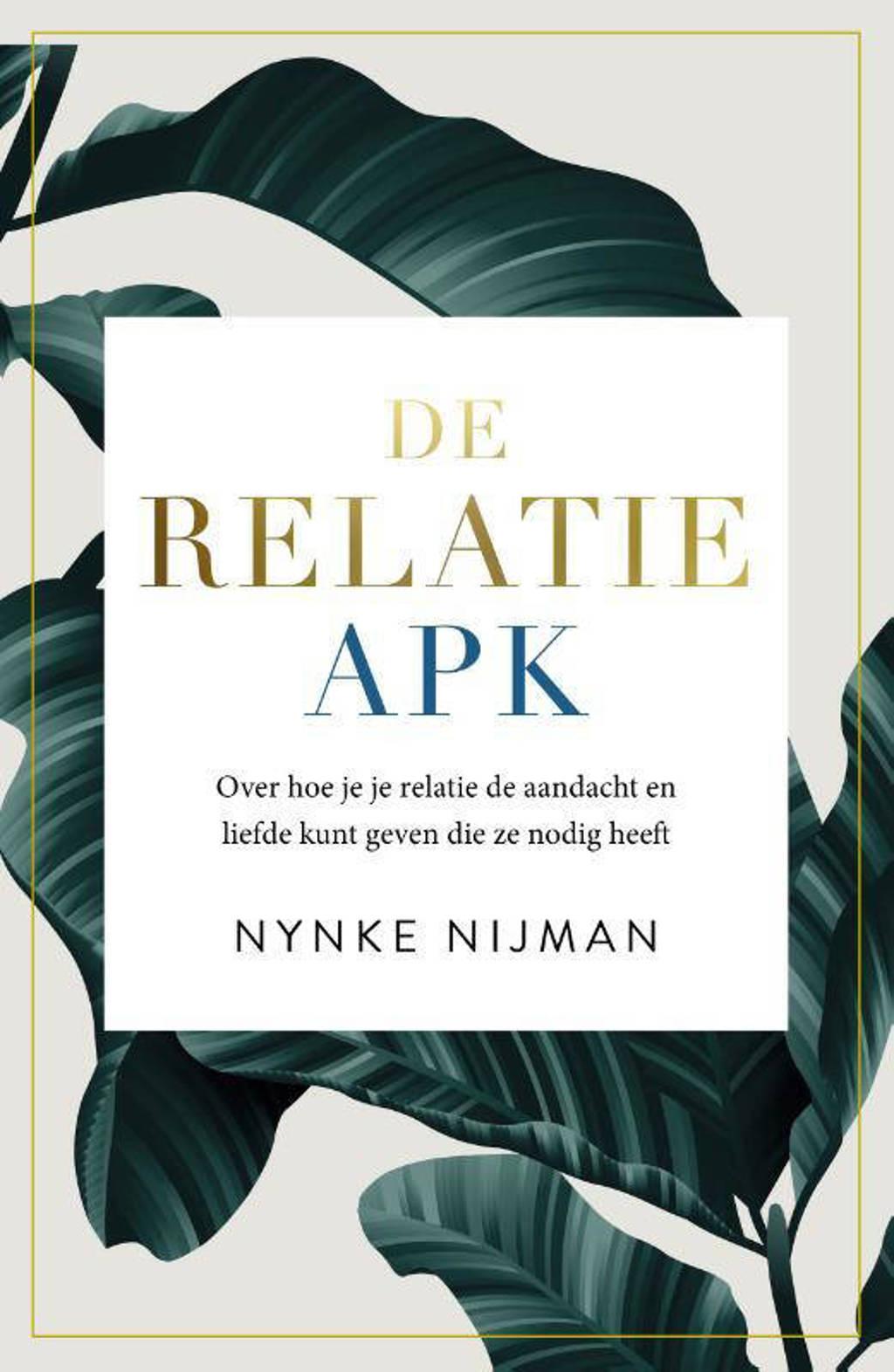 De relatie-apk - Nynke Nijman