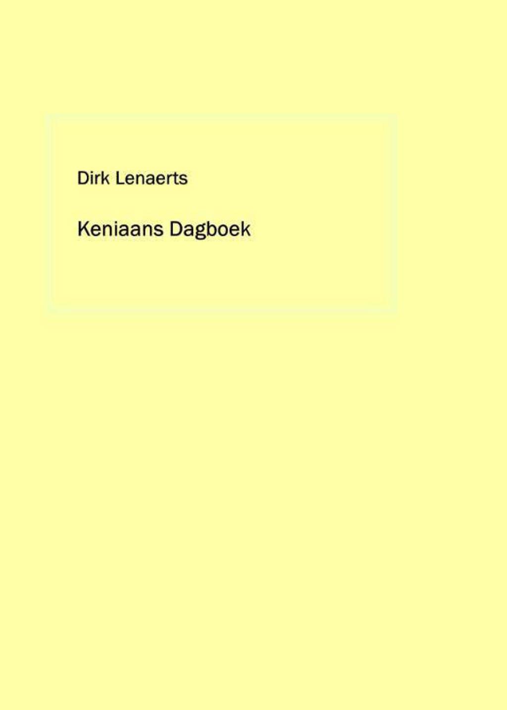 Keniaans dagboek - Dirk Lenaerts