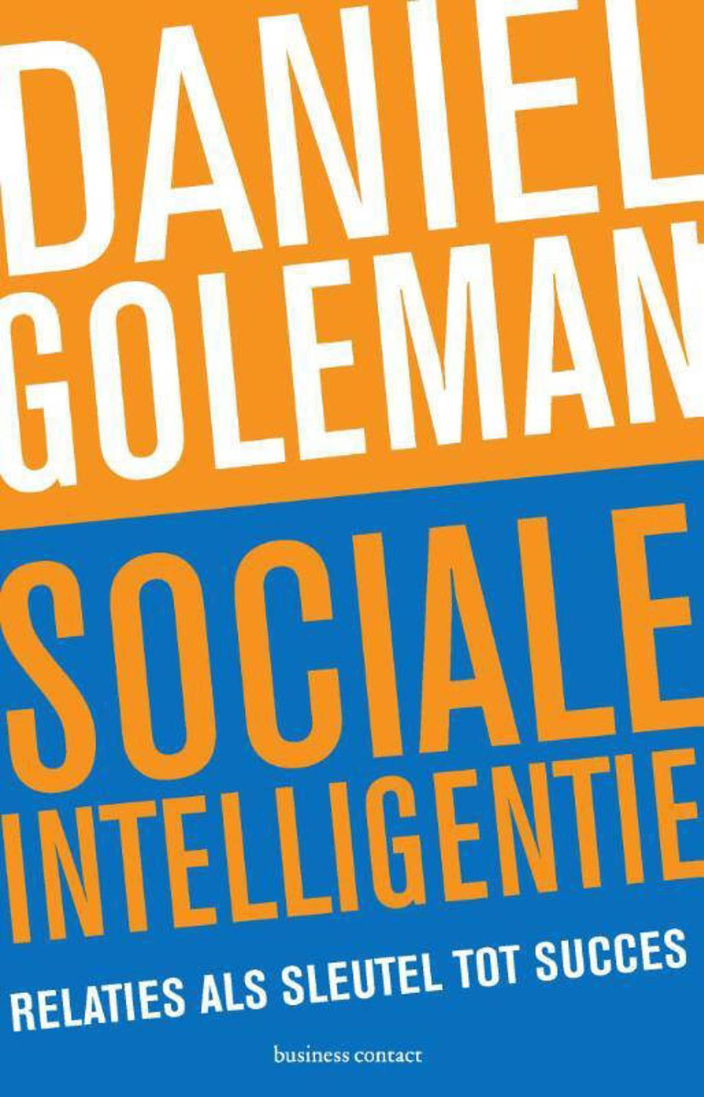 Sociale intelligentie - Daniël Goleman