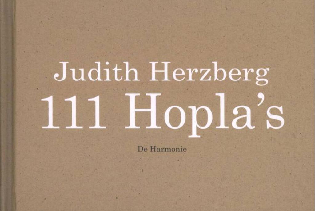 111 hopla's - Judith Herzberg