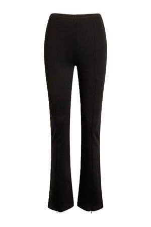 high waist skinny broek Pipi zwart