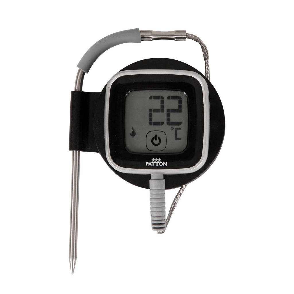 Patton  bluetooth smart thermometer I, Zwart/grijs