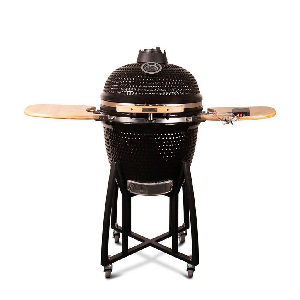 "Patton  kamado barbecue (21""), Zwart"