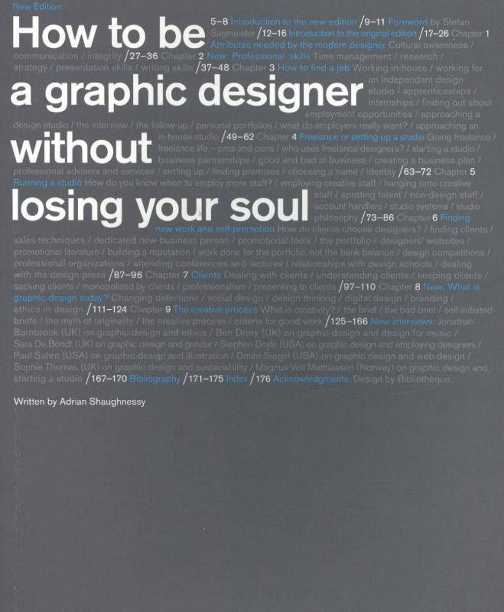 How to be a Graphic Designer...2nd edition - Shaughnessy, Adrian