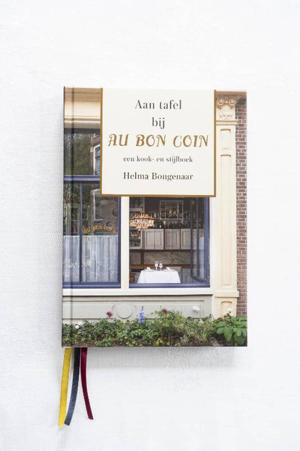 Aan tafel bij Au Bon Coin - Helma Bongenaar
