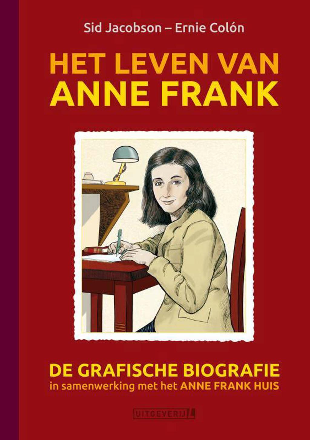 Het leven van Anne Frank - Sid Jacobson