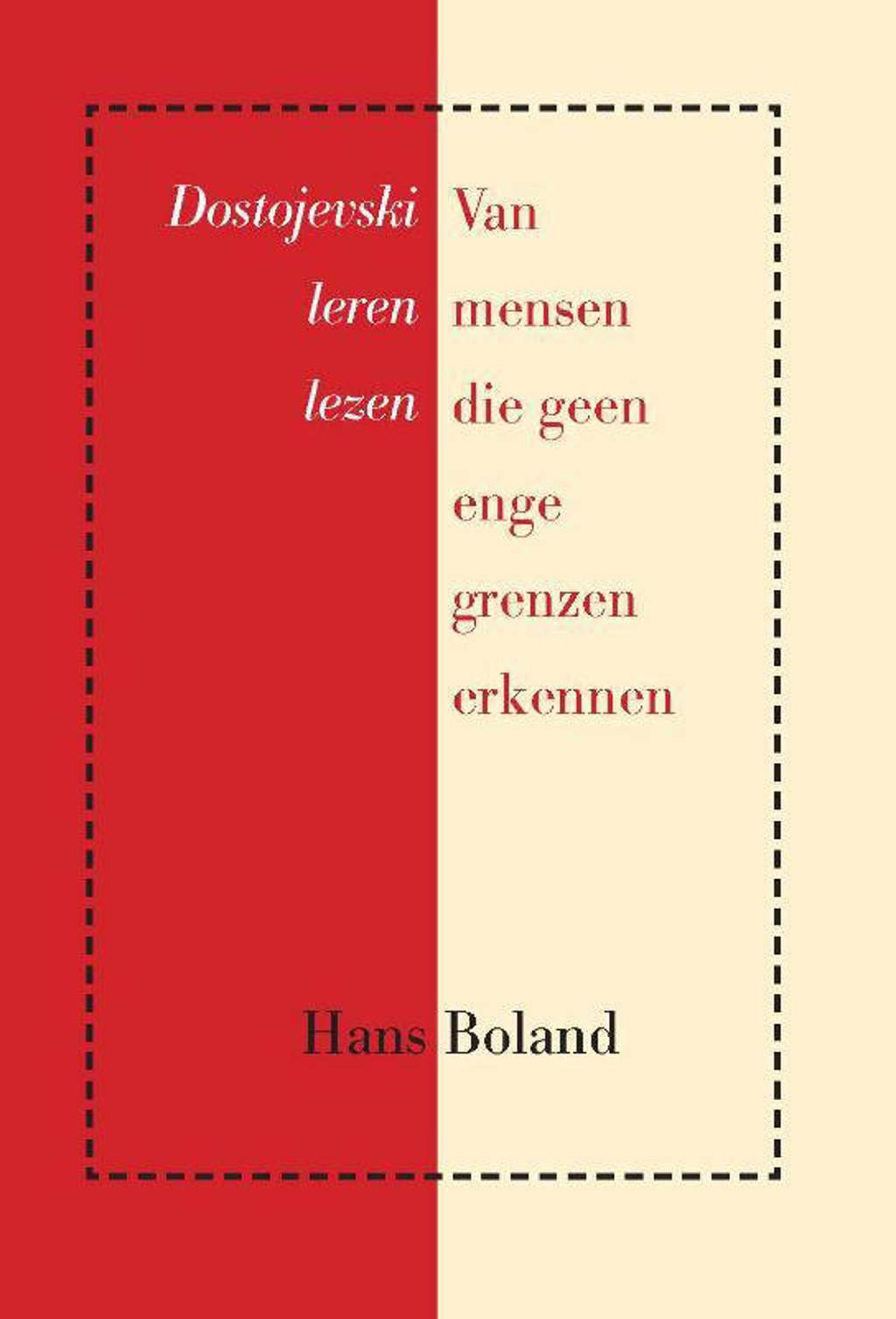 Van mensen die geen enge grenzen erkennen - Hans Boland