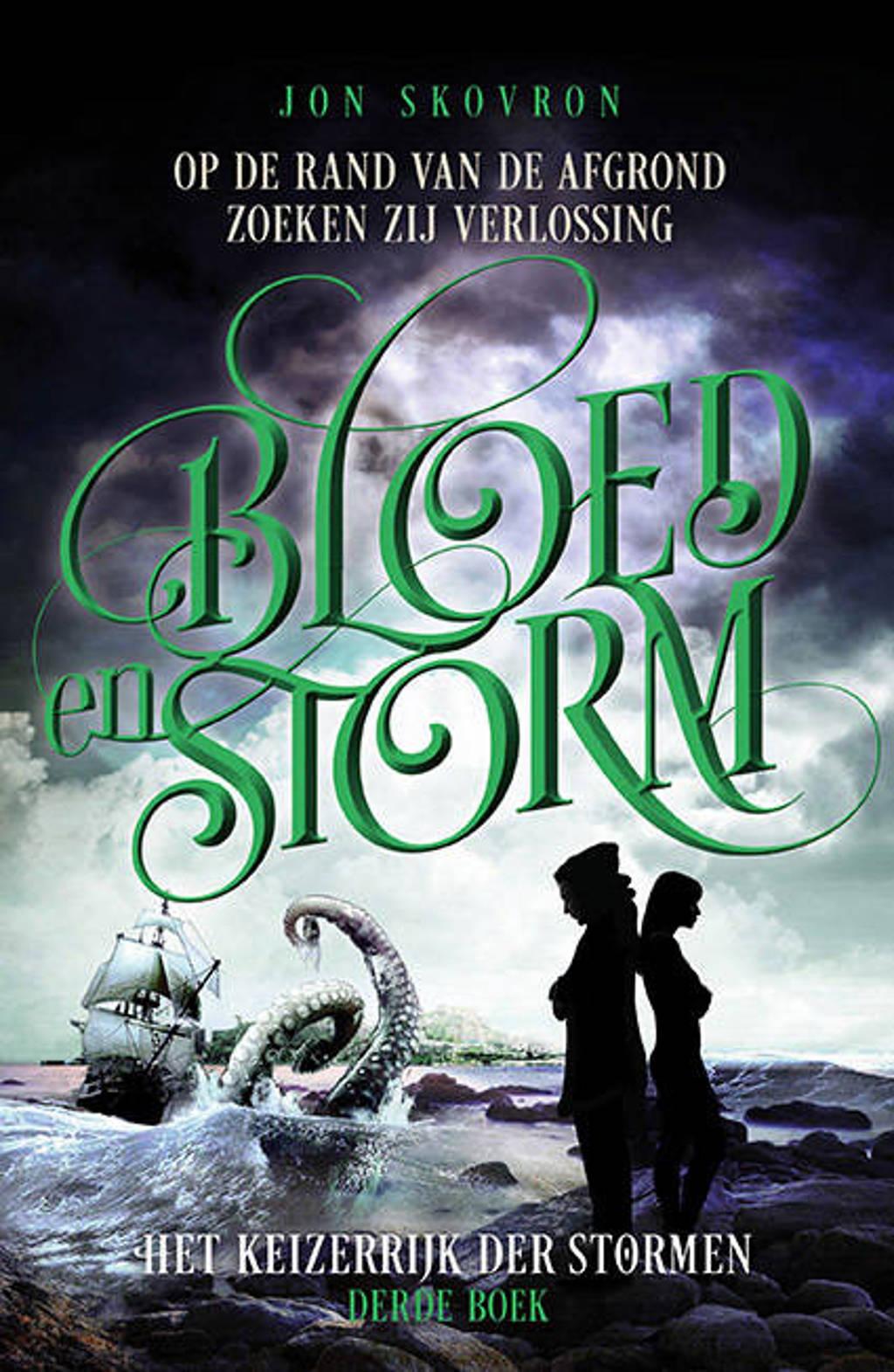 Het keizerrijk der stormen: Bloed en Storm - Jon Skovron