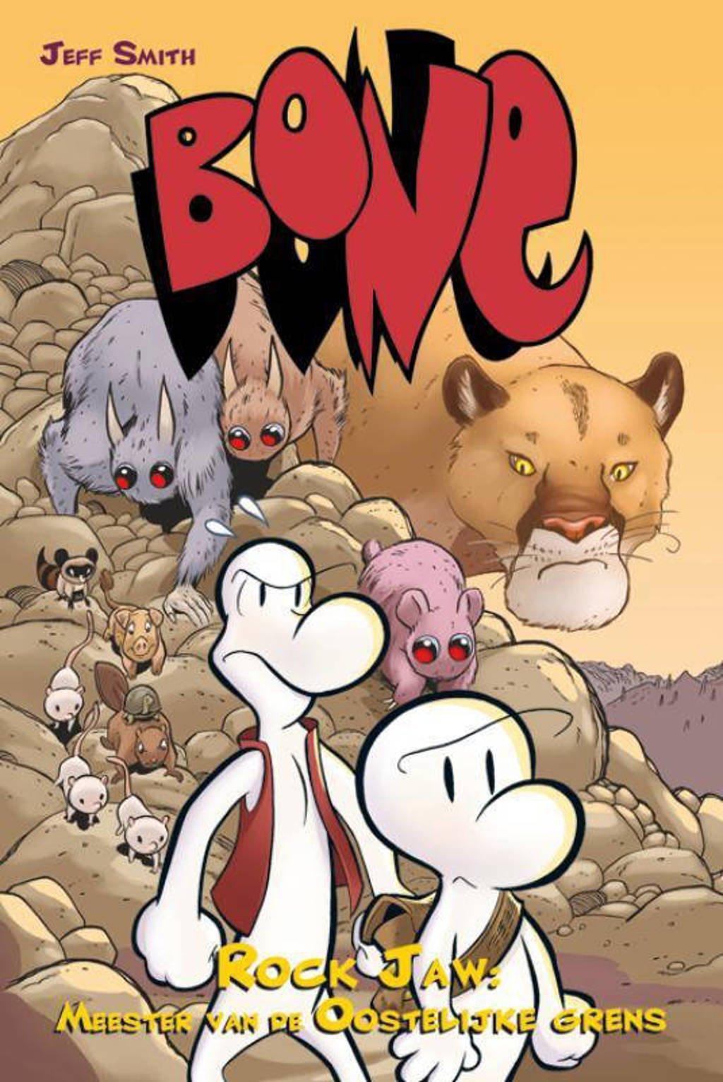 Bone Rock Jaw Heer van de Oostgrens - Jeff Smith