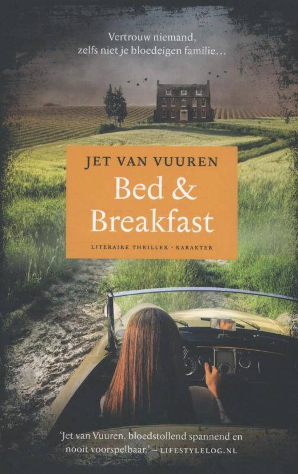 Bed & breakfast - Jet van Vuuren