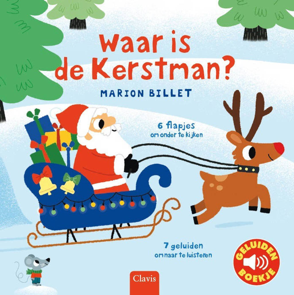 Waar is de Kerstman? - Marion Billet