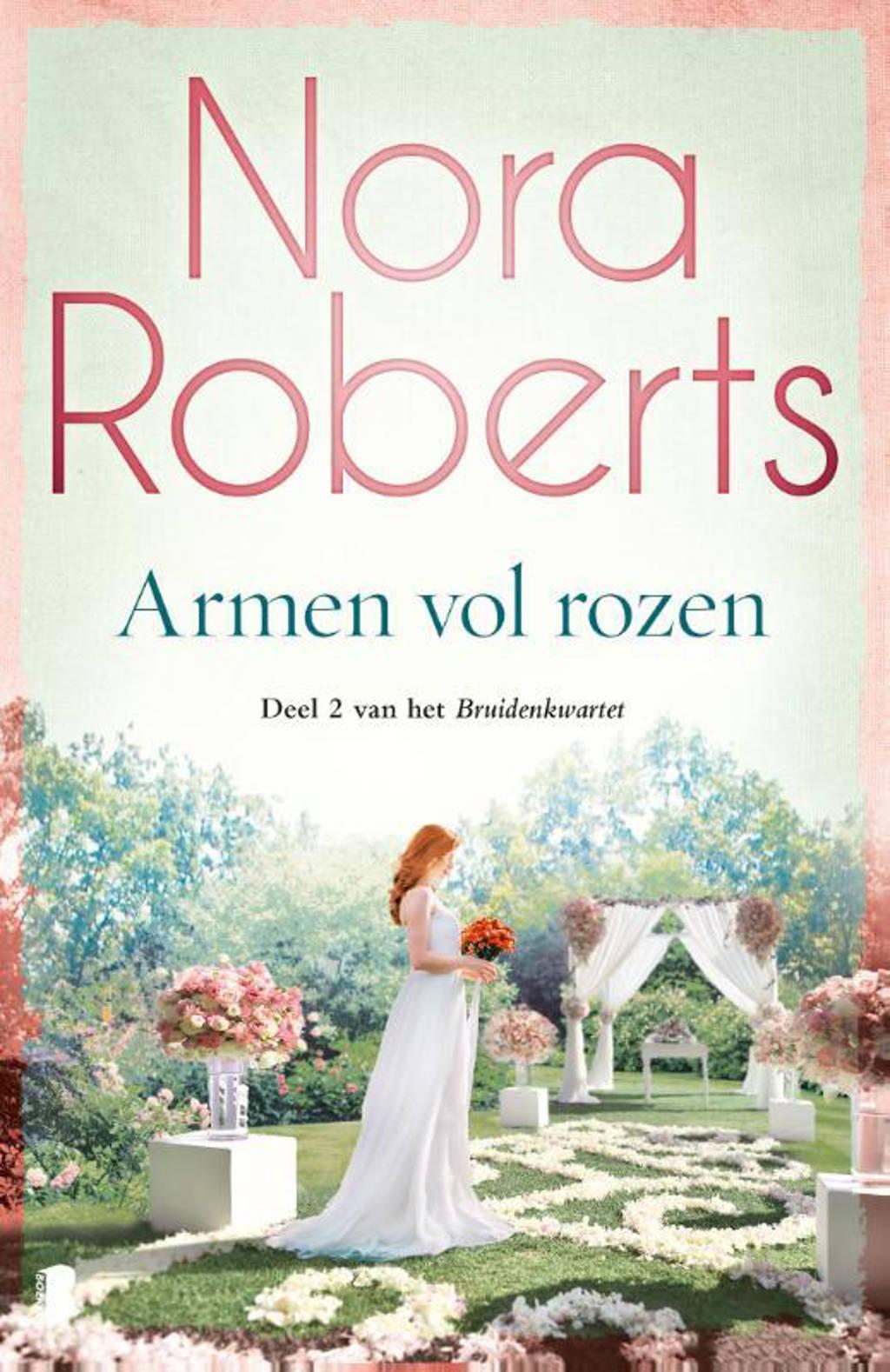 Bruidenkwartet: Armen vol rozen - Nora Roberts