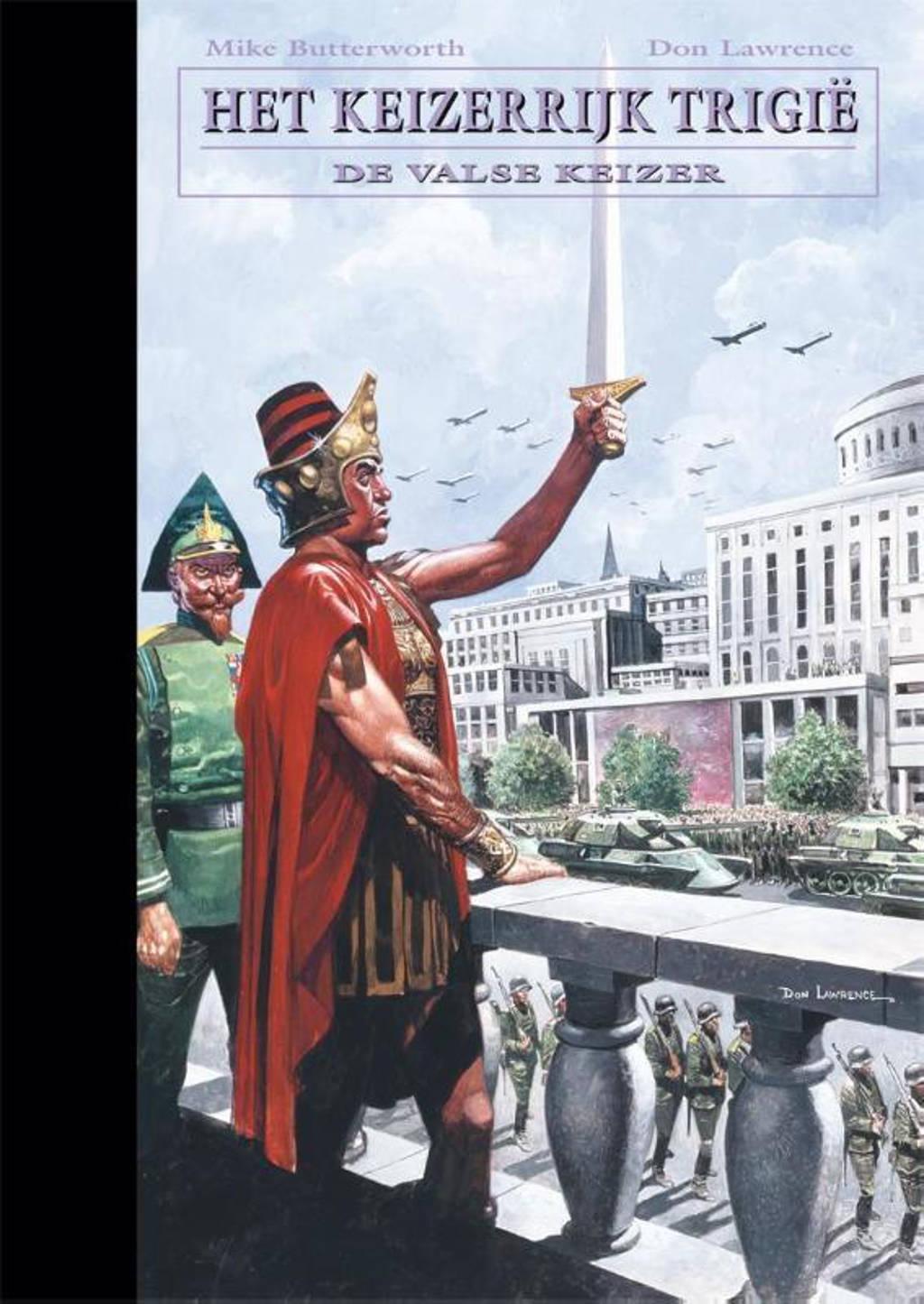 De opkomst en ondergang van het keizerrijk Trigië: De valse keizer - Don Lawrence en Mike Butterworth