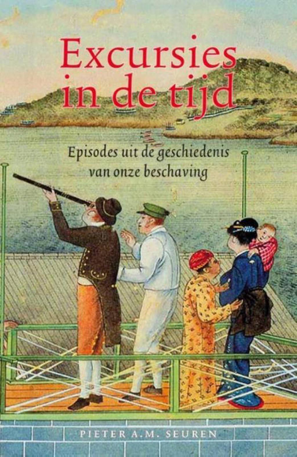 Excursies in de tijd - Pieter A.M. Seuren