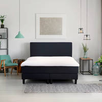 Beter Bed complete boxspring Ambra (120x200 cm), Blauw