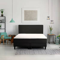 Beter Bed complete boxspring Ambra (180x200 cm), Zwart