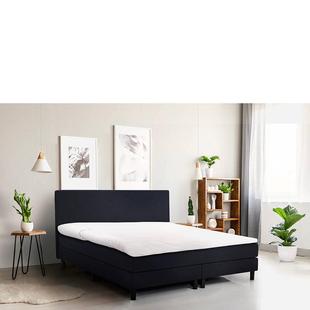Beter Bed complete boxspring Cisano 140x210 (140x210 cm), Blauw