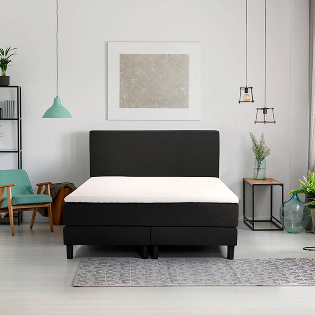 Beter Bed complete boxspring Ambra (90x200 cm), Zwart