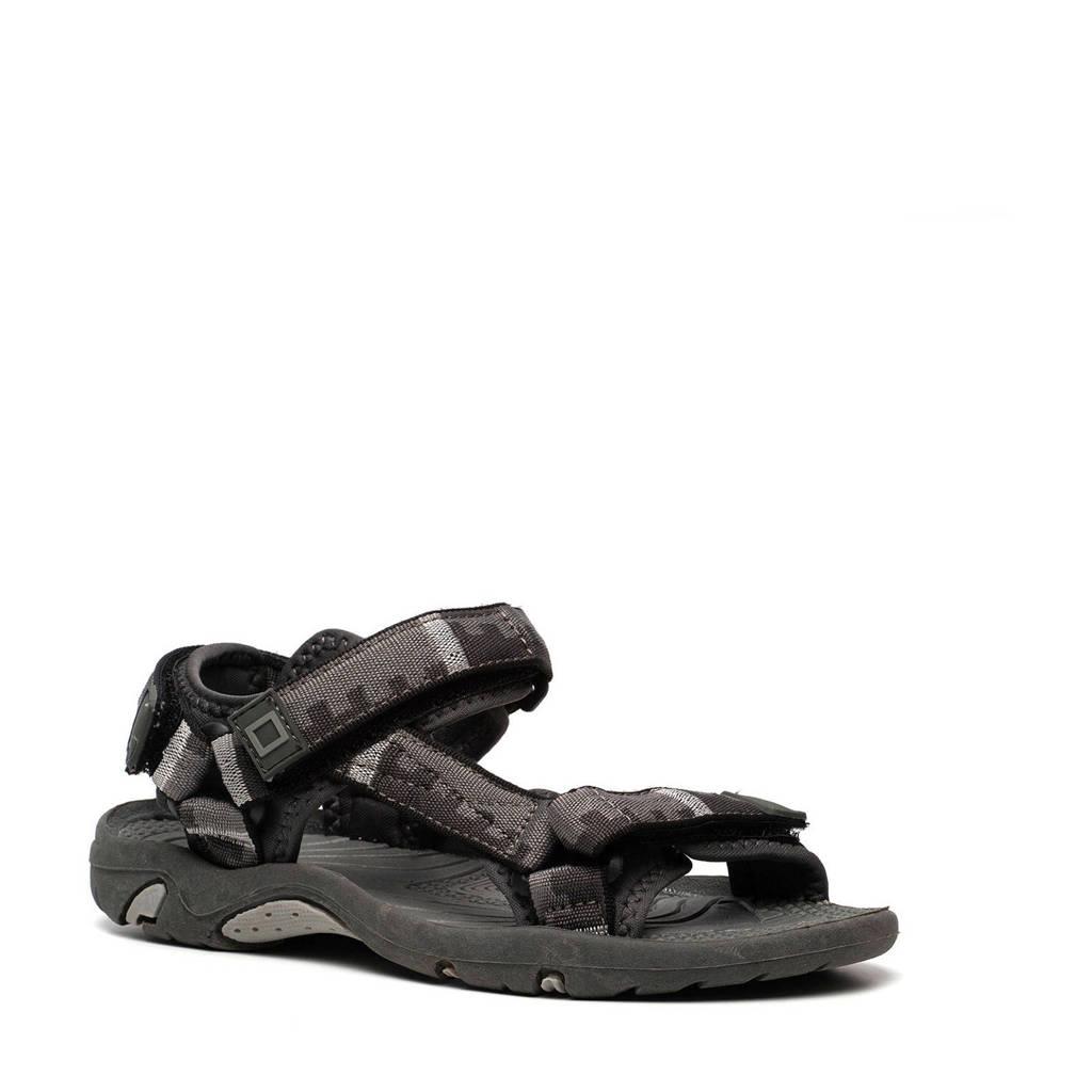 Scapino Blue Box   sandalen grijs, Grijs/zwart