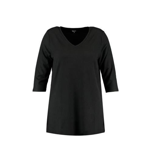 MS Mode lang T-shirt zwart