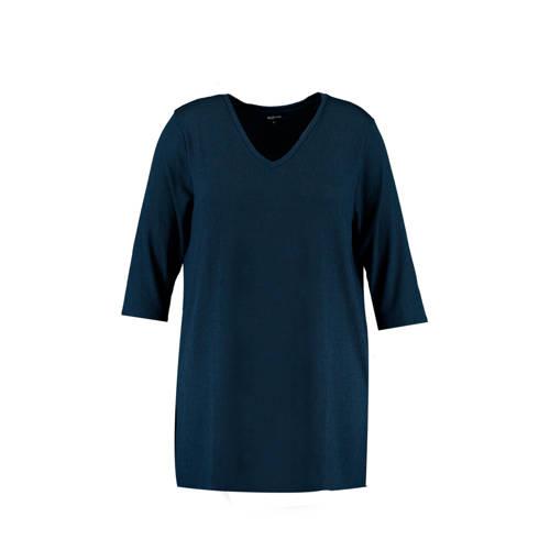 MS Mode lang T-shirt marine