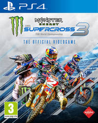 Monster energy supercross – Official videogame 3 (PlayStation 4)