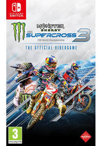 Monster energy supercross – Official videogame 3 (Nintendo Switch)