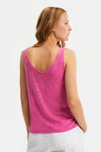 WE Fashion singlet sunrise pink, Sunrise Pink