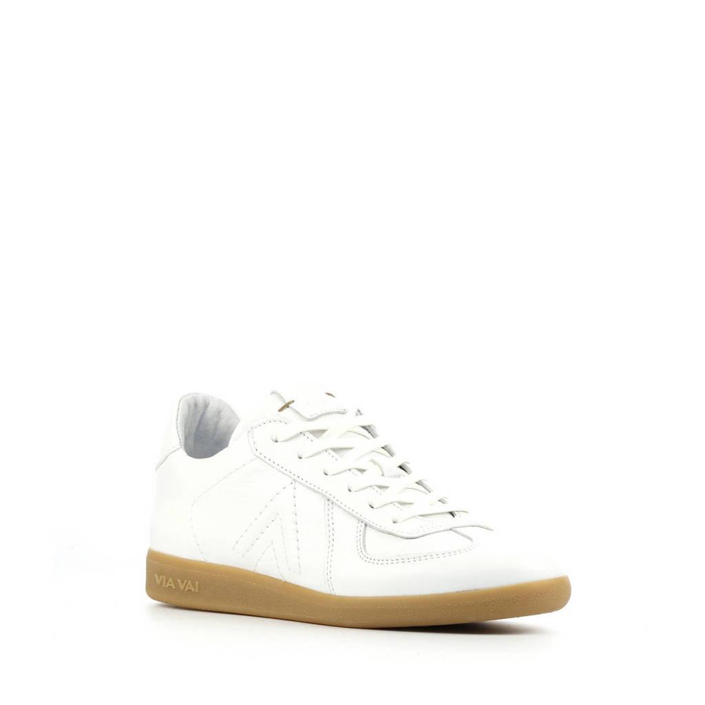 Via Vai 5406011   leren sneakers wit, Wit