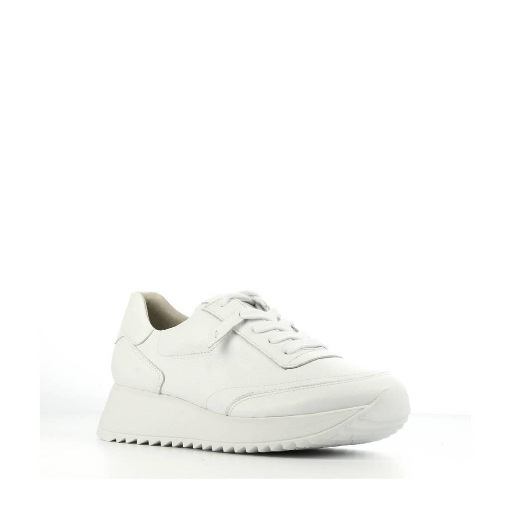Paul Green 4946  leren sneakers wit, Wit
