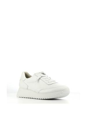 4946  leren sneakers wit