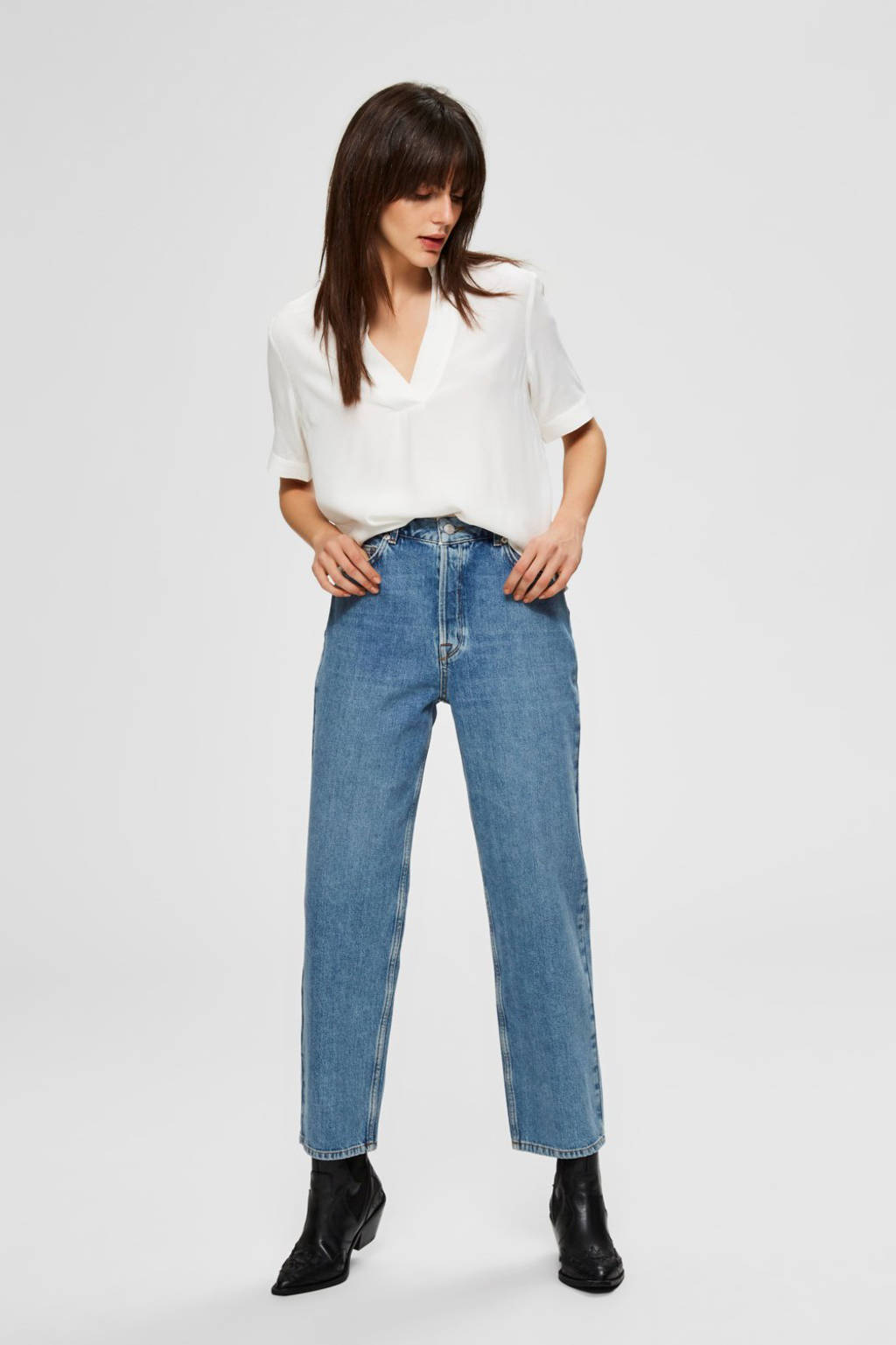 SELECTED FEMME top off-white, Ecru/Off white