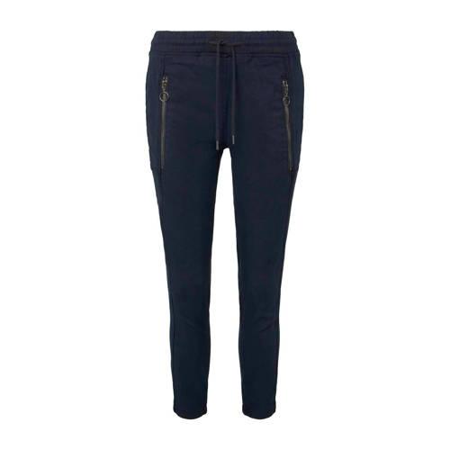 Tom Tailor straight fit broek donkerblauw
