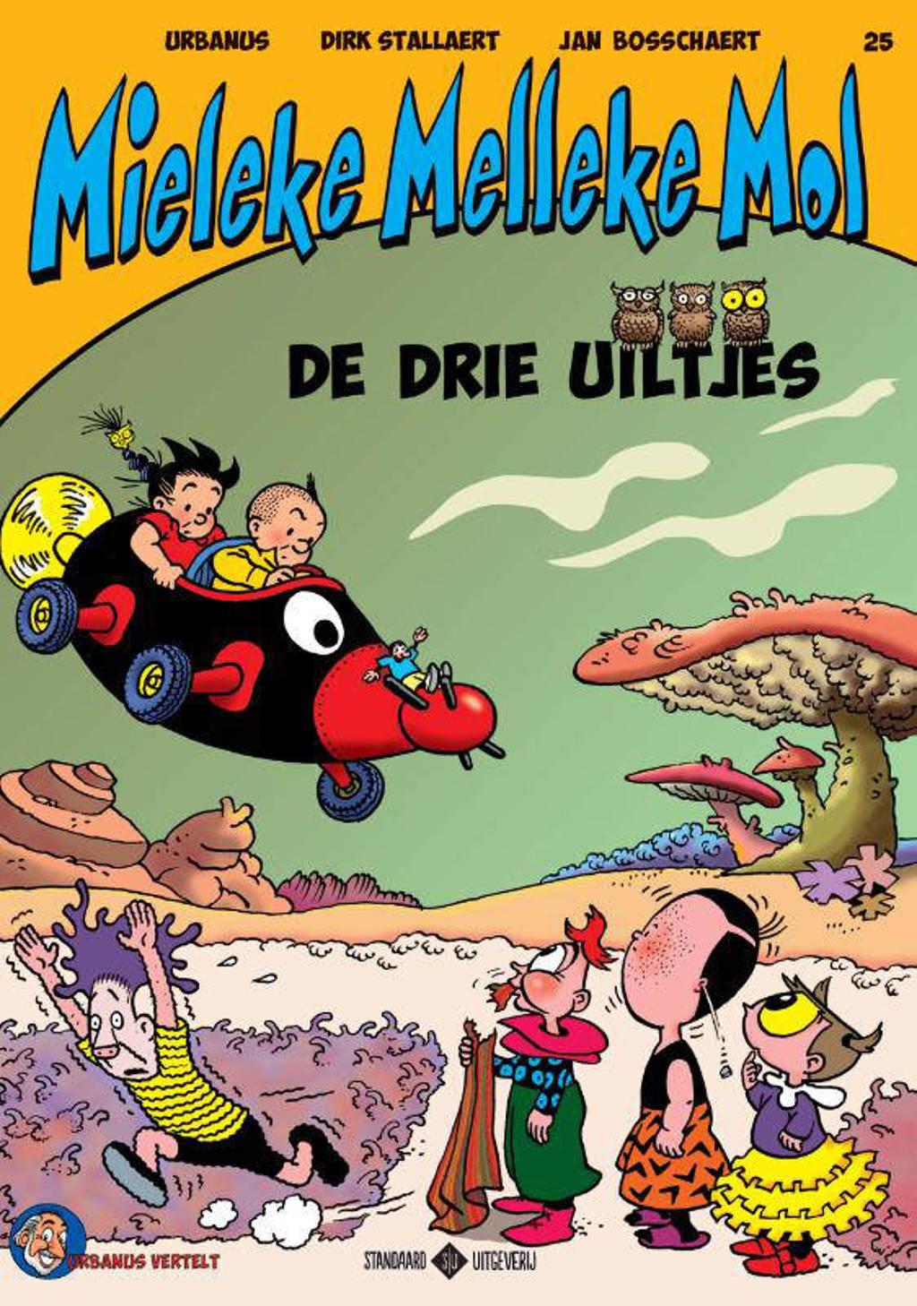 Mieleke Melleke Mol: De drie uiltjes - Dirk Stallaert en Urbanus