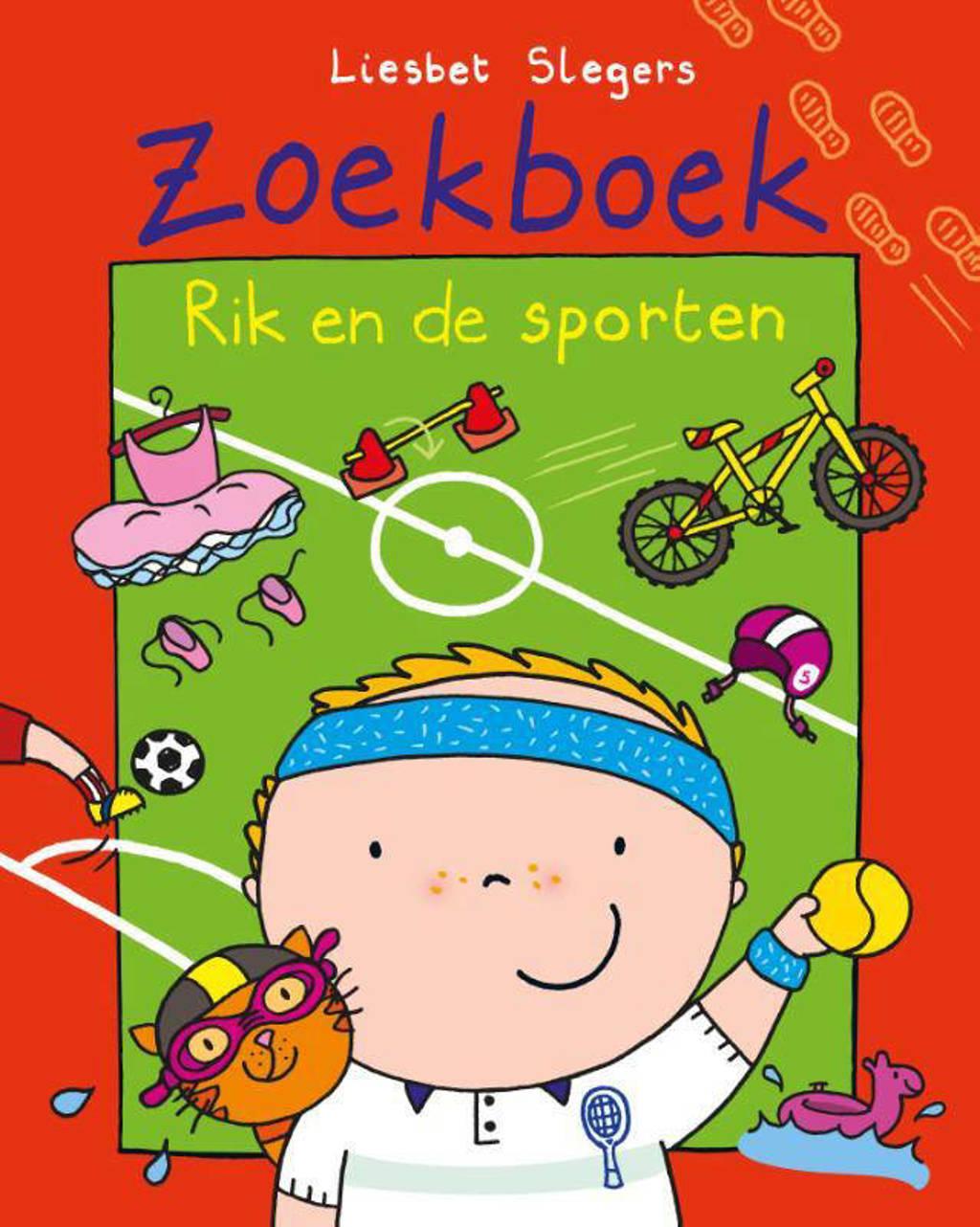 Rik: Zoekboek Rik en de sporten - Liesbet Slegers