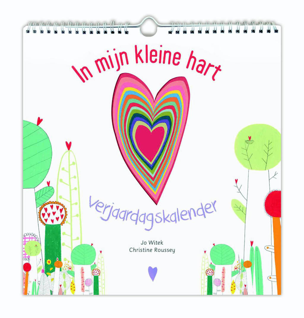 In mijn kleine hart verjaardagskalender - Jo Witek