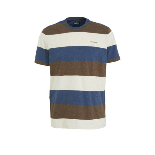 State of Art gestreept T-shirt ecru