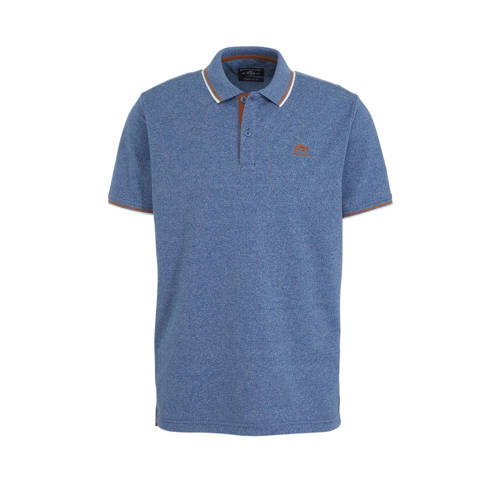 State of Art regular fit polo blauw