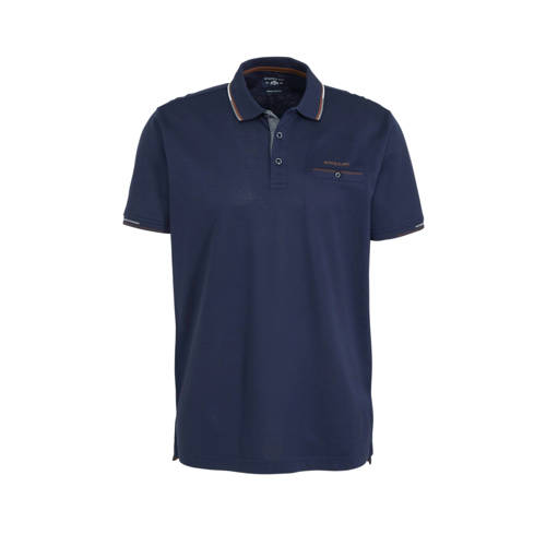 State of Art regular fit polo donkerblauw