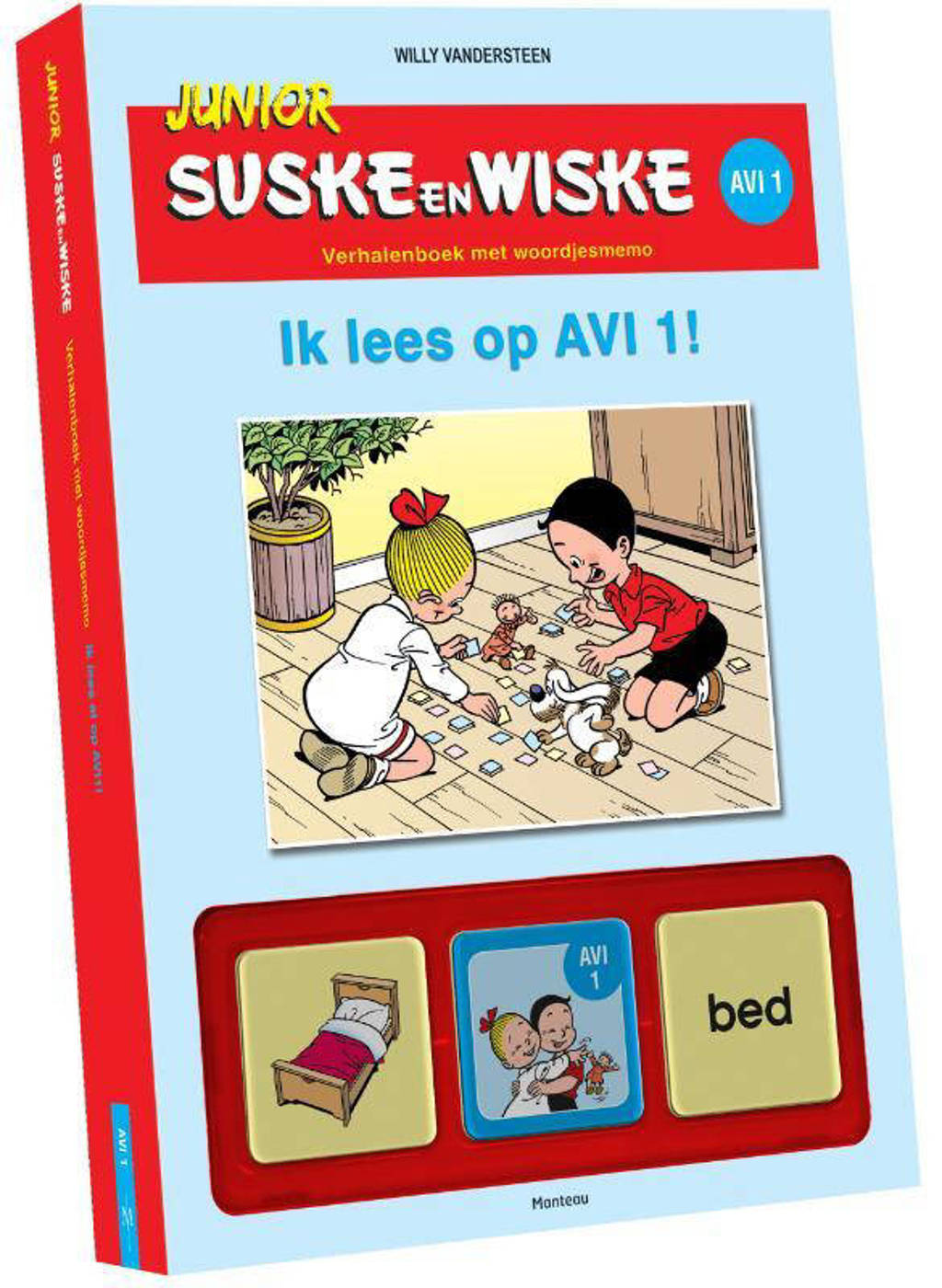 Junior Suske en Wiske: Ik lees op AVI 1 - Willy Vandersteen en Hetty van Aar