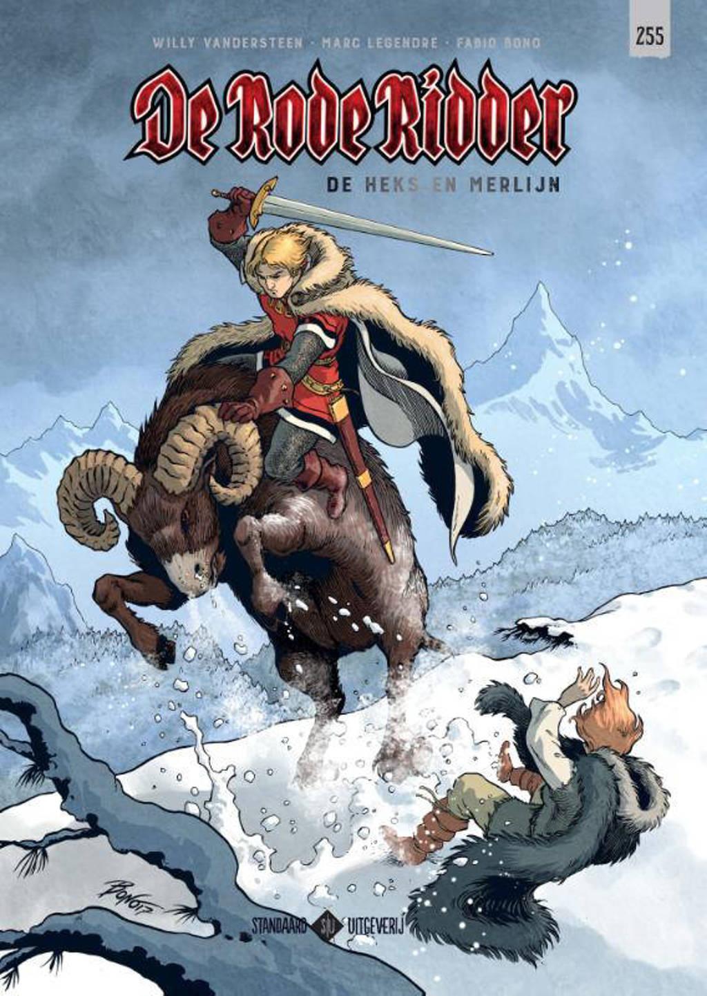 De Rode Ridder: De Heks en Merlijn - Willy Vandersteen en Marc Legendre